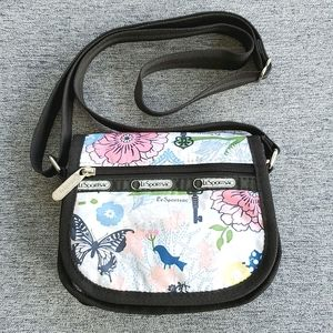 LeSportSac Mini Crossbody Bag Floral